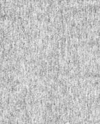 woolen gray fabric - stock photo