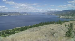 Lake Okanagan p 01 Stock Footage