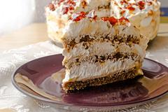 Egyptian cake Stock Photos