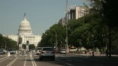 US Capitol 2 Stock Footage