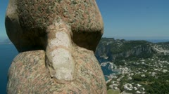 Capri - Villa San Michele. Italy (5) Stock Footage