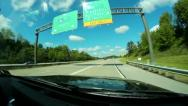 Driving Perspective 2623 Stock Footage