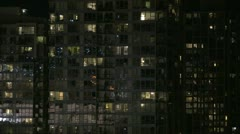 Yaletown, Vancouver night Stock Footage