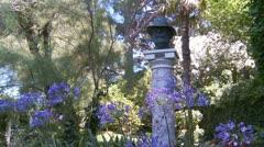 Capri - Villa San Michele. Italy (2) Stock Footage