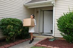 Moving Out.jpg Stock Photos