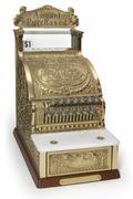 ornate cash register - stock photo