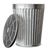 Stock Photo of trash can
