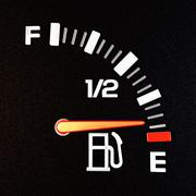 empty tank - stock photo