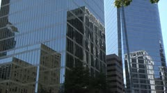 MS HIghrise Office building Stock Footage