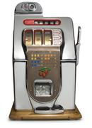 Vintage slot machine Stock Photos
