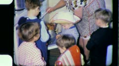 Grandmother Children THANKSGIVING CHRISTMAS 1960s (Vintage Film Home Movie) 3868 Stock Footage