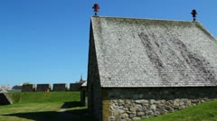 The Fortress at Louisbourg Stock Footage