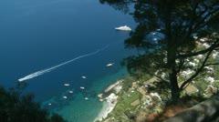 Island of Capri, Italy (5) Stock Footage