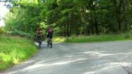 Mountain bikes Stock Footage