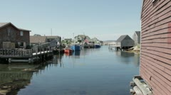 Peggy's Cove Stock Footage