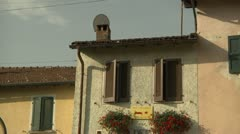 Bed and Breakfast in Carona, Switzerland Stock Footage