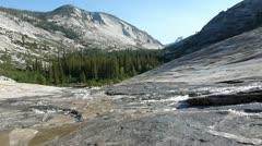 Tenaya Canyon Creek - stock footage