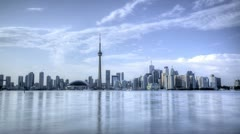 Timelapse Toronto Skyline HDR Stock Footage