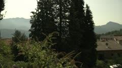 Small Village in Switzerland Stock Footage
