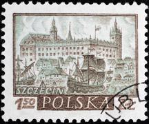 Stock Photo of postal stamp