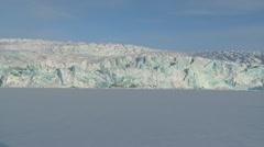 Svalbard Glacier 1 Stock Footage