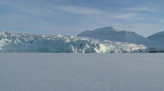 Svalbard Glacier 3 Stock Footage