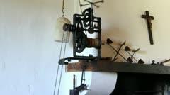 Automatic 18th Century Rotiserie Stock Footage