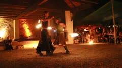 Medieval Footage Elements - the Fire Twist Stock Footage