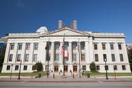 Ohio State House & Capitol Building in Columbus, OH. Stock Photos