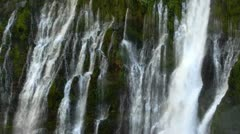 Burney Falls 14 Waterfalls Stock Footage