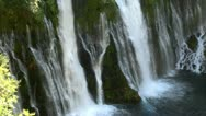 Burney Falls 15 Waterfalls Stock Footage