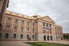 Arizona State House and Capitol Building, Phoenix - stock photo