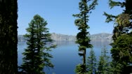 Crater Lake 34 Stock Footage