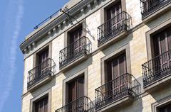 European apartments Stock Photos
