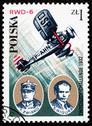 Poland postage stamp Stock Photos