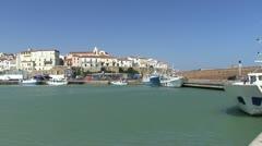 Italy - Molise - Termoli Port Stock Footage