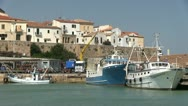 Italy - Molise - Termoli Port Stock Footage