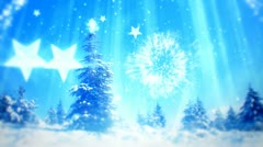 Christmas and New Year tree 6 Stock Footage
