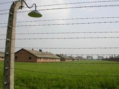 Auschwitz Birkenau Poland - stock photo