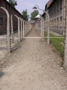 World War II Auschwitz - stock photo