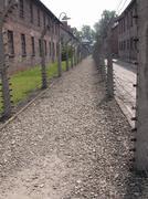 Auschwitz WW2 - stock photo