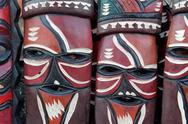 Stock Photo of African masks