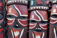African masks Stock Photos