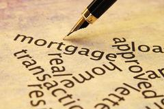 Mortgage concept Stock Photos