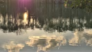 Stock Video Footage of Reflection on the Water