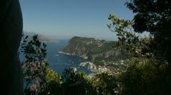 Capri - Villa San Michele. Italy (14) Stock Footage