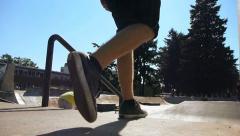 Skateboarders 1 - stock footage