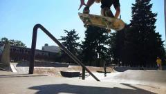 Skateboarders 2 - stock footage