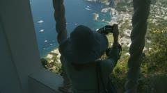 Capri - Villa San Michele. Italy (12) Stock Footage