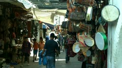 Moroccan marketplace Stock Footage